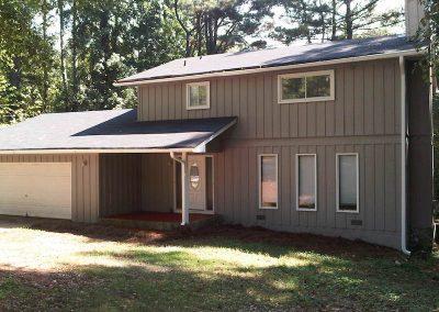Extérieur d'une maison ou investir à Atlanta