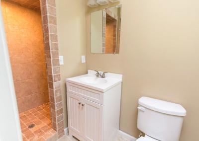 Salle de bain d'un investissement locatif aux Usa